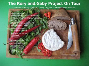 The Rory and Gaby Project - Laurelin gig
