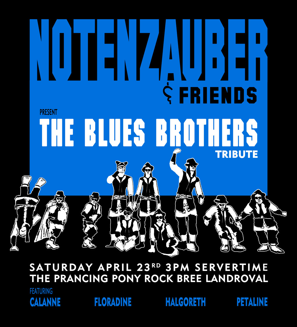 Notenzauber - Blues Brothers Tribute - 2016