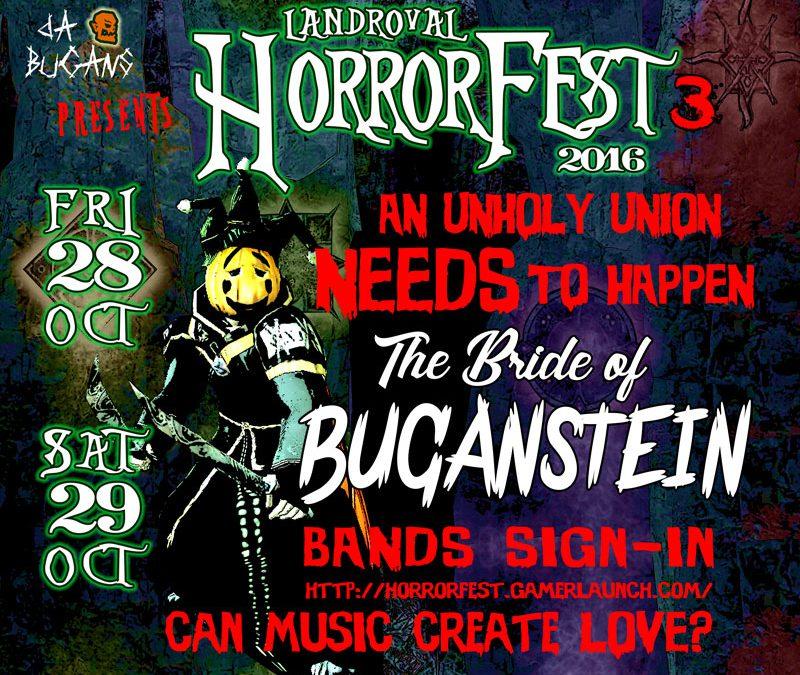 Horrorfest III – Bride of Buganstein : BANDS SIGN-IN