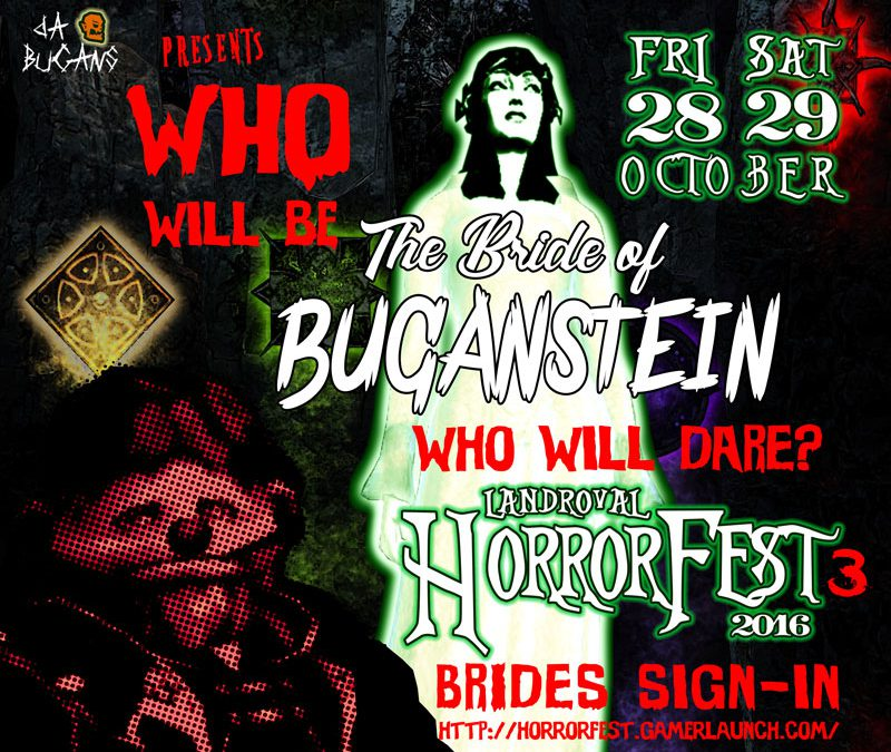 Horrorfest III – Bride of Buganstein : BRIDES SIGN-IN