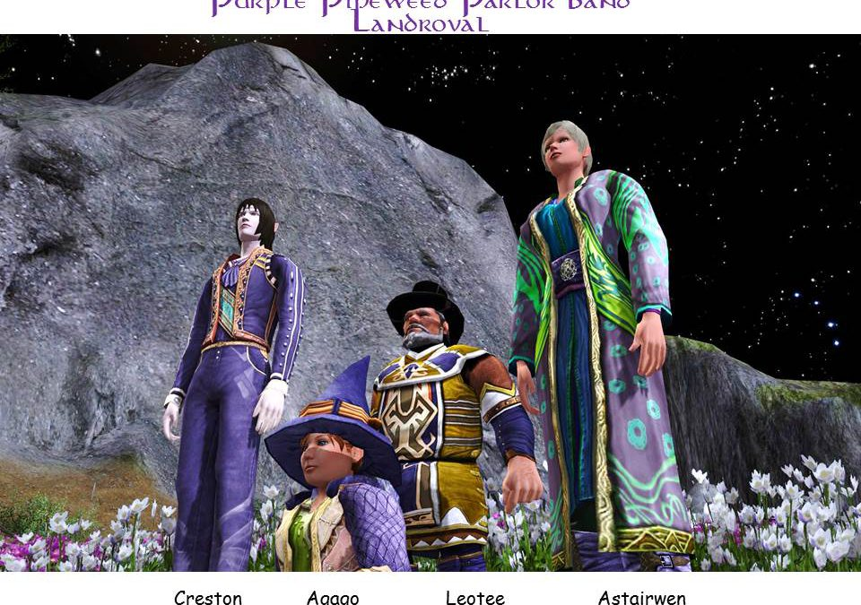 Purple Pipeweed Parlor Band