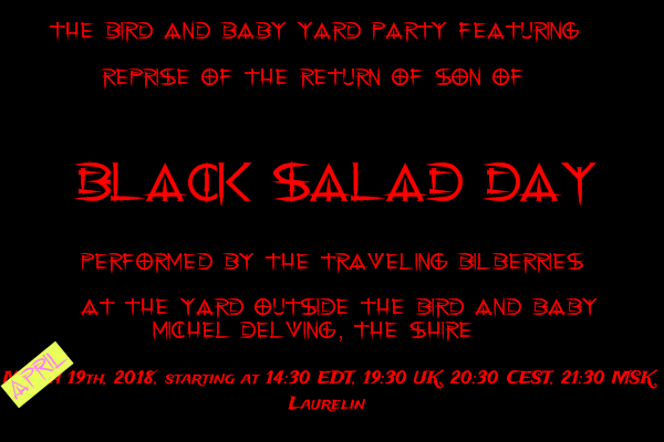 Black Salad Day 2018